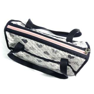 HEART CHECK DOG CARRIER lightweight travel quilted bag