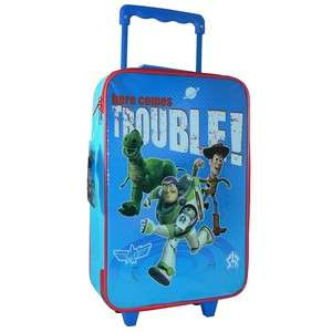 Toy Story KIDS Trolley Bag Luggage Wheeled Suitcase NEW