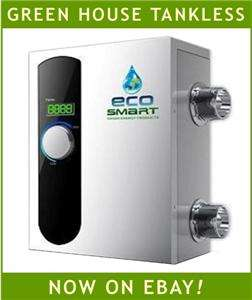 Heater Electric Tankless Ecosmart 92,000 BTU for Large Pools