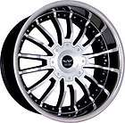 20 Staggered Wheels Avarus Rim Tire Lexus G35 SLS 350Z