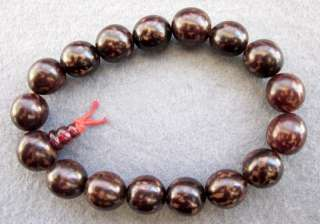 Natural Bodhi Beads Tibet Buddhist Prayer Bracelet Mala