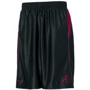 Nike Alabama Crimson Tide Black Game Time Durasheen Shorts