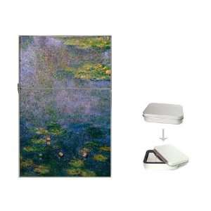 Claude Monet   Water Lilies Fine Art Impressionist Painting Flip Top
