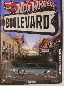 2012 Boulevard Series PLYMOUTH AAR CUDA Gray MOC 746775120955