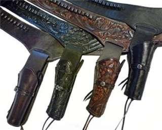 WESTERN Cowboy Gun Belt HOLSTER RIG   Hand Tooled   Better Than a
