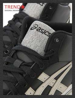 Brand New Asics Aaron MT Black/Peyote HI Shoes #25