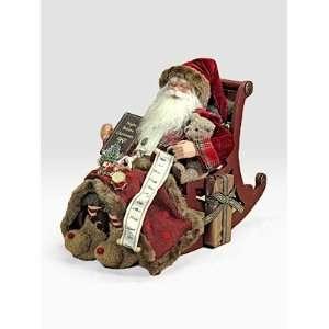 Karen Didion Night Before Christmas Santa   Night Before