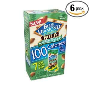 100 Calorie Packs bold Wasabi & Soy Sauce, 4.2 Ounce Boxes (Pack of 6