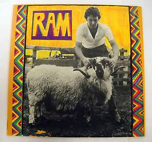 Paul And Linda McCartney 33 Speed LP Record Rock and Roll Album