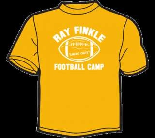 RAY FINKLE FOOTBALL T Shirt WOMENS funny ace ventura