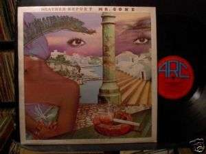 WEATHER REPORT Mr. Gone LP 1978 VG+ Jaco