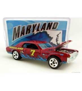 Hot Wheels Connect Cars 68 Mercury Cougar Maryland New