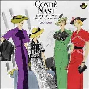 Conde Nast Fashion Art Wall Calendar 2012