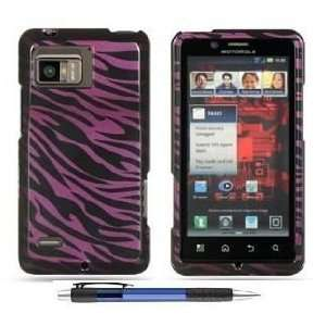 Zebra Premium Design Hard Cover Case for Motorola XT875 Droid Bionic