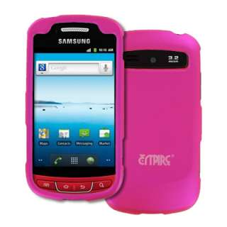 for Samsung Admire Hard Hot Pink Case Cover+Screen Protector+Car