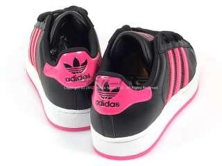 Adidas Originals Superstar 2 W Black/Pink/White Classic Casual 2012