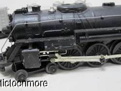 VINTAGE LIONEL LINES 2046 LOCOMOTIVE ENGINE 2046W TENDER & TRAIN CAR