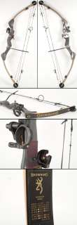 RH Compound Bow+TruGlo Sight+Carolina Brush Adjust Draw 55 70#