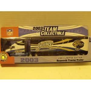 edition Jacksonville Jaguars 180 scale Tractor Trailer Toys & Games