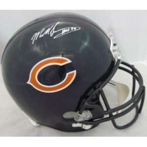 NEW Mike Singletary SIGNED F/S Replica BEARS Helmet