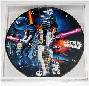 STAR WARS Lucas Films A New Hope WOOD WALL CLOCK New