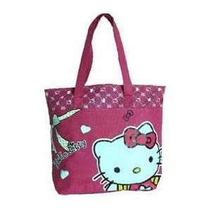 Hello Kitty Bag Case 518 Cute Kitty Decorated Waterproof Shopping Bag