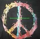 shirt peace sign woodstock vw hippy love man flower
