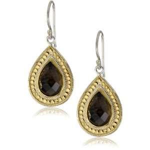Anna Beck Designs Gili Smoky Quartz Teardrop Earrings