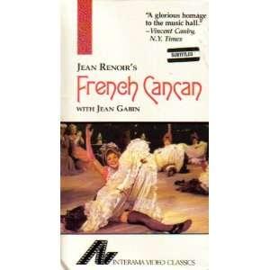 French Cancan Jean Gabin, Francoise Arnoul, Maria Felix