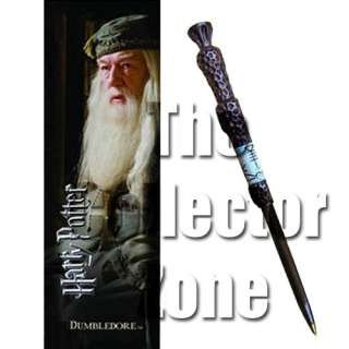 Harry Potter Professor Albus Dumbledore Wand Pen and Bookmark Gift Set