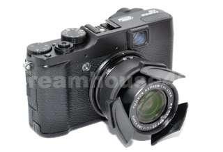 Retaining Auto Open Close Lens Cap for FUJIFILM FINEPIX X10 ALC X10