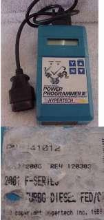 Hypertech Power Programmer III POWERSTROKE FORD 7.3L 99 2003 Model