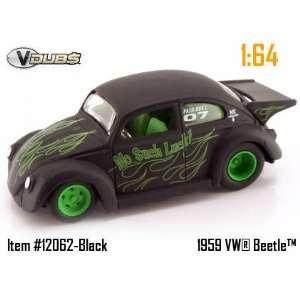 Jada Dub City VDubs Flat Black Racing No Such Luck 1959