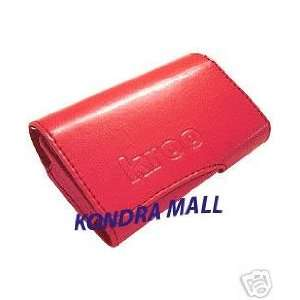 Red Kroo Premium PU Leather Case for Apple iPod G4 with