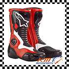 ALPINESTARS S MX SMX 2 BOOTS RED/BLACK EUR 44 US 9.5