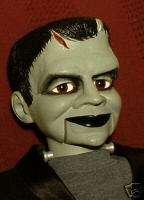 Haunted Ventriloquist Doll EYES FOLLOW YOU Frankenstein Prop Dummy