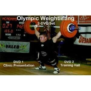 Olympic Weightlifting Clinic & Training Hall 2 DVD Set n