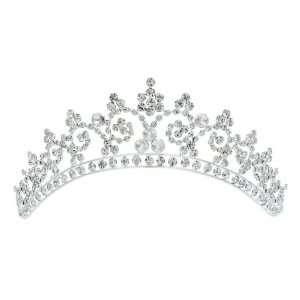 Bridal Pageant Rhinestones Crystal Wedding Crown Tiara Beauty