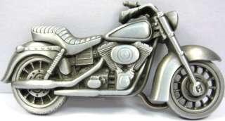 MOTORCYCLE BELT BUCKLE BIKER CHOPPER BIKE METAL B158