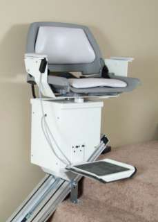Ameriglide AC Powered Stair Lift Call us at 1 800 659 6498