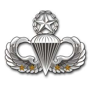 US Army Master 4 Combat Jump Wings Decal Sticker 5.5