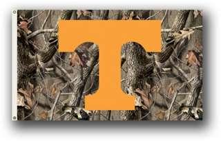University of Tennessee Vols UT Realtree Camo Flag