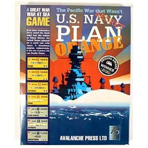 Avalanche Press U.S. Navy Plan Orange The Pacific War that