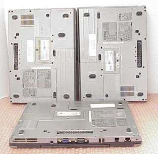 Dell Latitude D620 PP18L Core Duo Laptops for Parts Repair Used