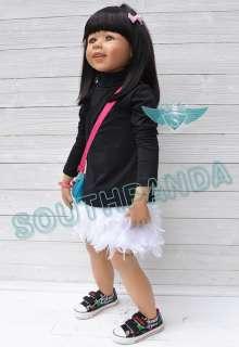 KS Fur Angel Velvety Comfortable Stylish Sweet Girl Kids Children