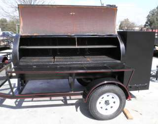 New 6 x 12 Competition BBQ Trailer