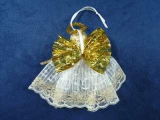 Handmade Lace Angel Christmas Ornament (#31)