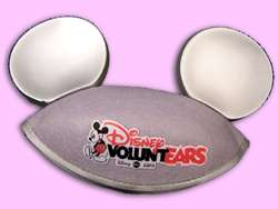 DISNEY MICKEY MOUSE EARS HAT VOLUNTEARS 25TH ANNIVER