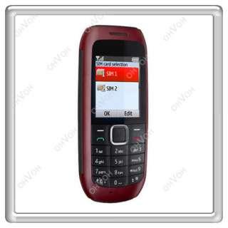Quad Band Dual 2 Sim Camera FM Bluetooth Flashlight Mobile Cell Phone