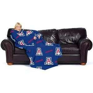 Arizona Wildcats UA NCAA 48X71 Comfy Throw Sports